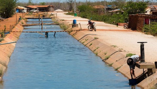 open air canals in Brazil are heavily pesticided