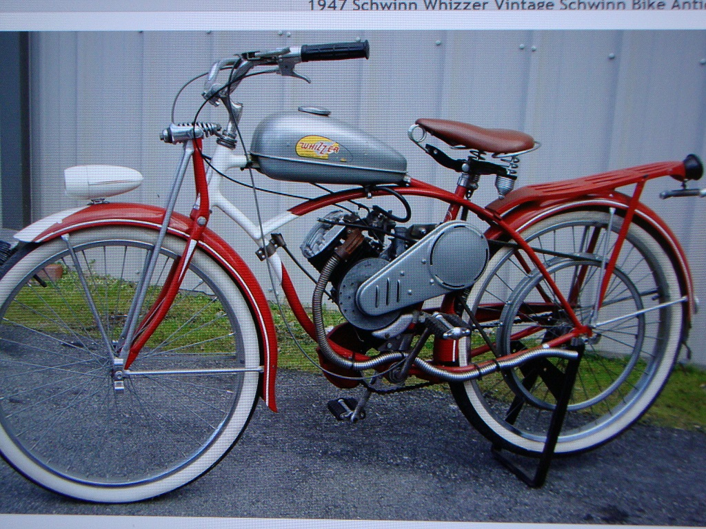 Parts Of Bike For Sale 1948 Schwinn Based Whizzer Dave 39s Vintage Bicycles