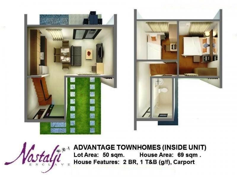 4 Bedroom House Design Townhomes - Nostalji Enclave