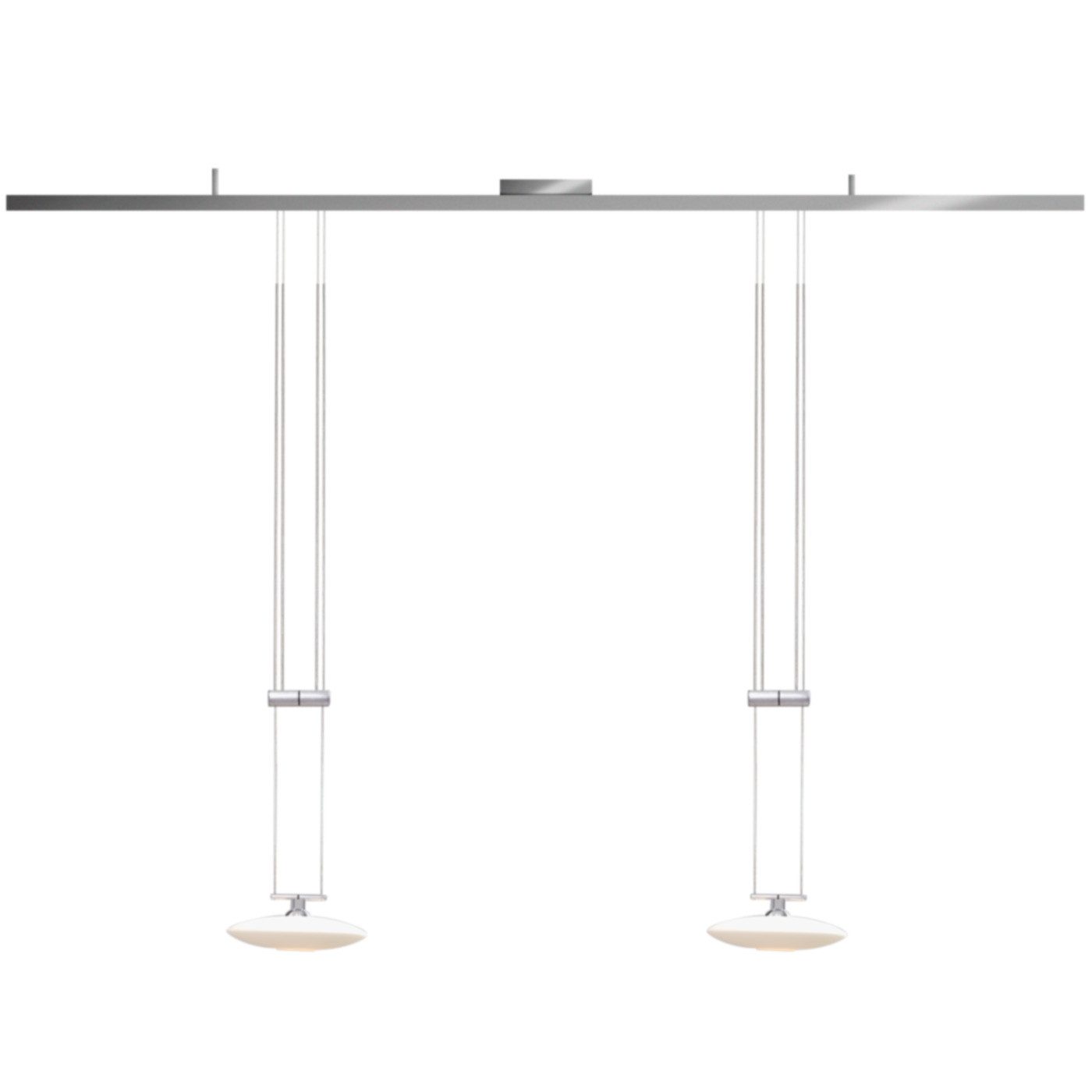 Glass Lamp Vector Ldm Vector Tavolo 2 Lunaled Grande Duo Pendant Lamp
