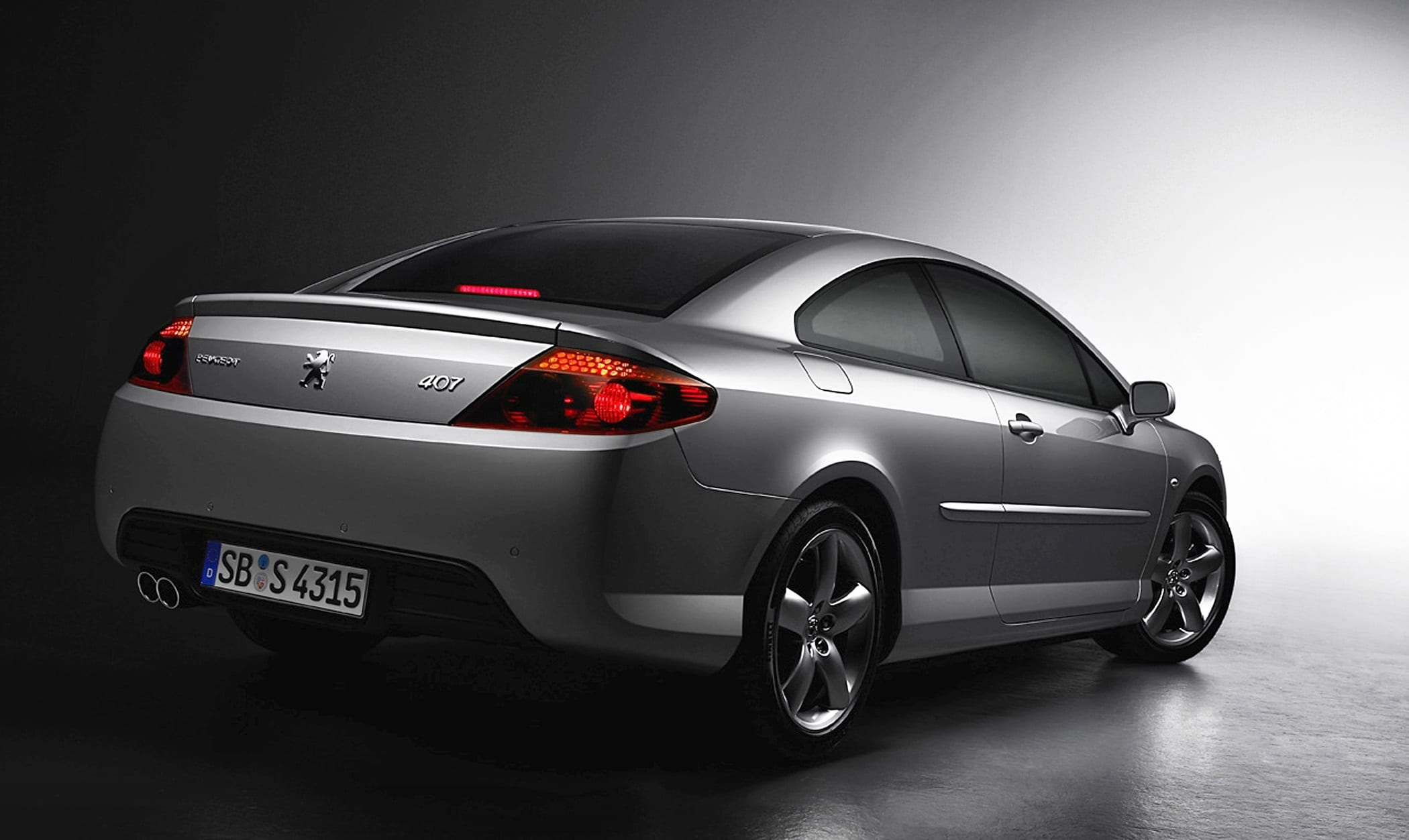 Coupe Peugeot 407 Coupe Handsome In An Ugly Kind Of Way We Think