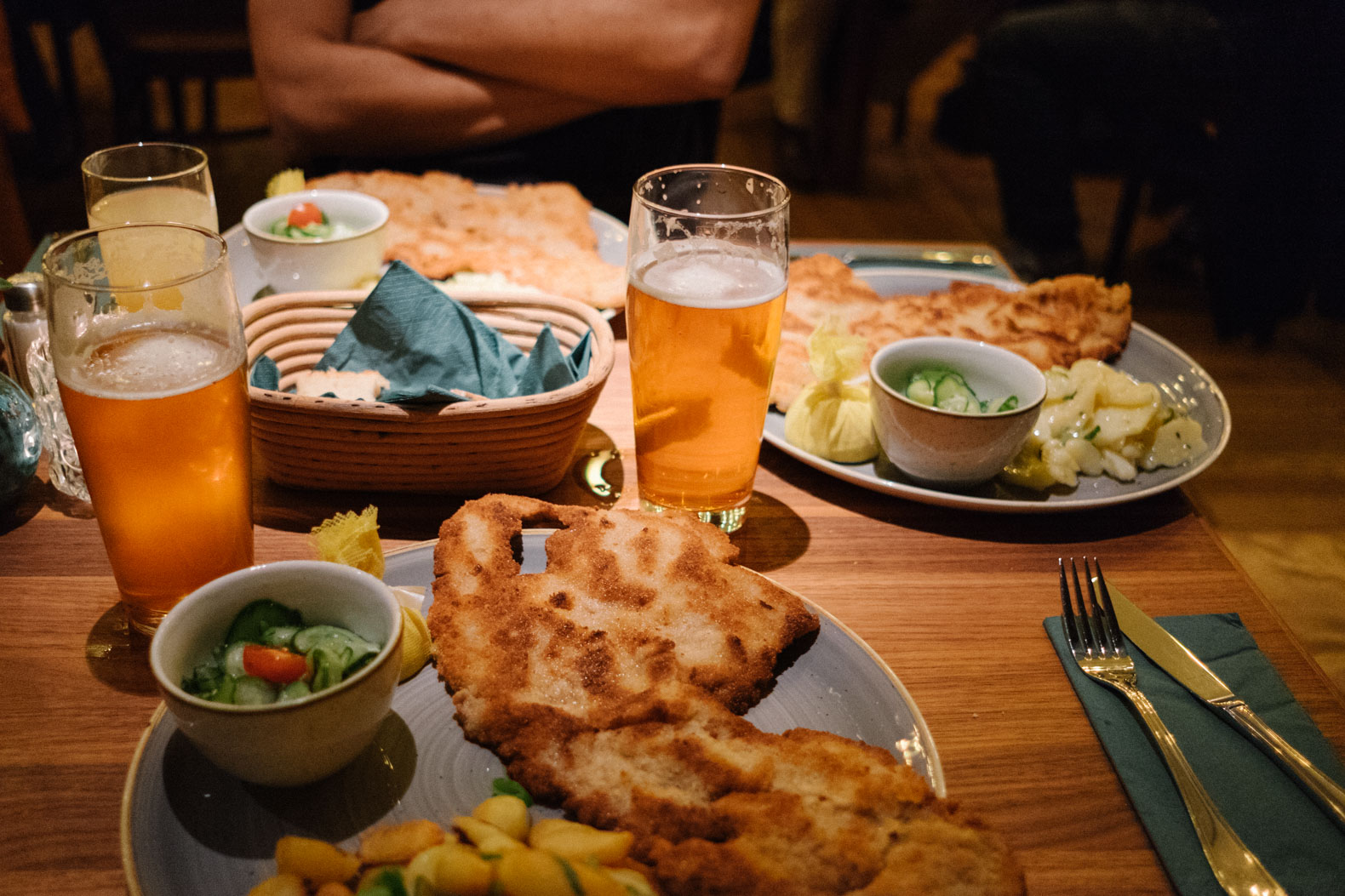 Schnitzel Restaurant Locals Favorite Places To Eat German Food In Berlin Not A Nomad