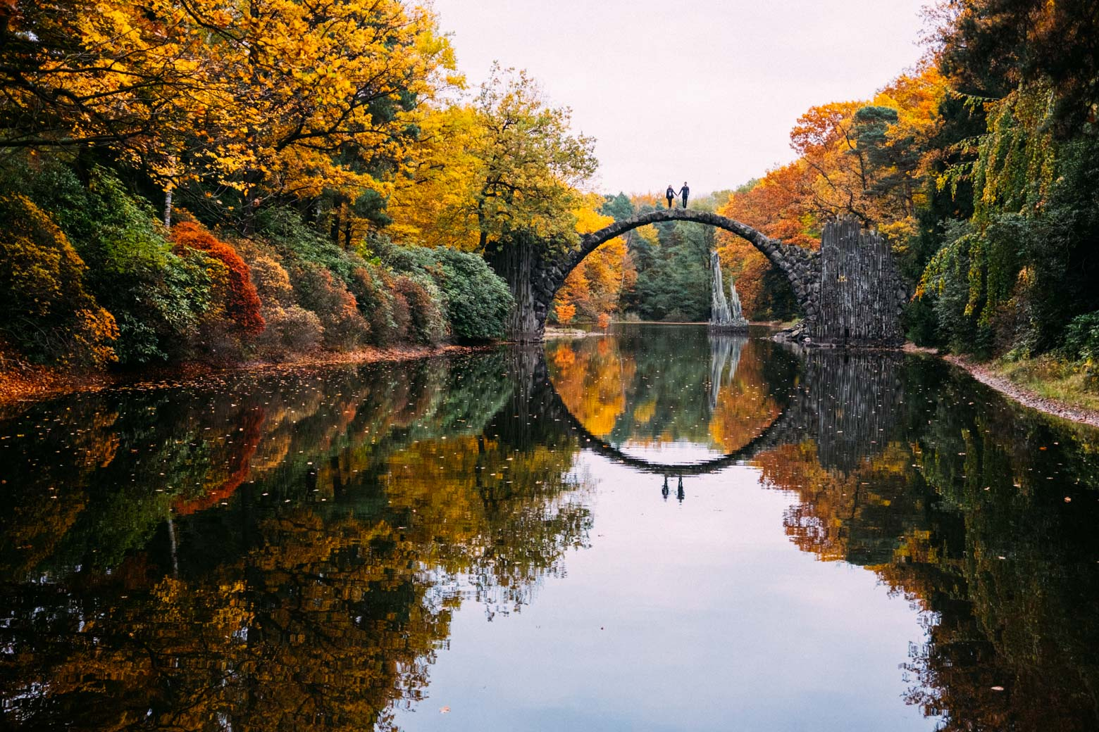 Fall Fairy Wallpaper Crossing The Devil S Bridge In Saxony Not A Nomad Blog
