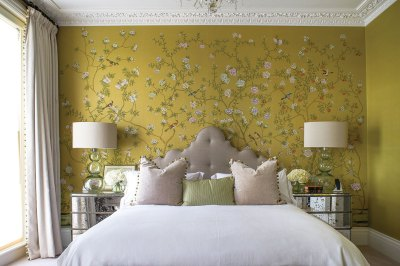 50+ Floral Wallpaper and Mural Ideas - Your No.1 source of Architecture and Interior design news!
