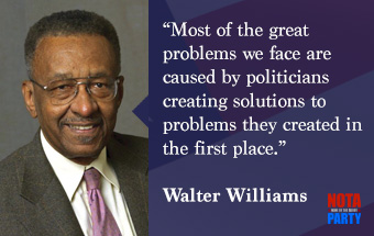 quotes-walter-williams-government-problems-solutions