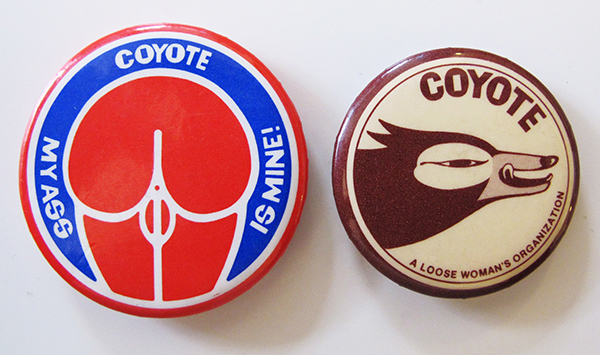 Coyote badges