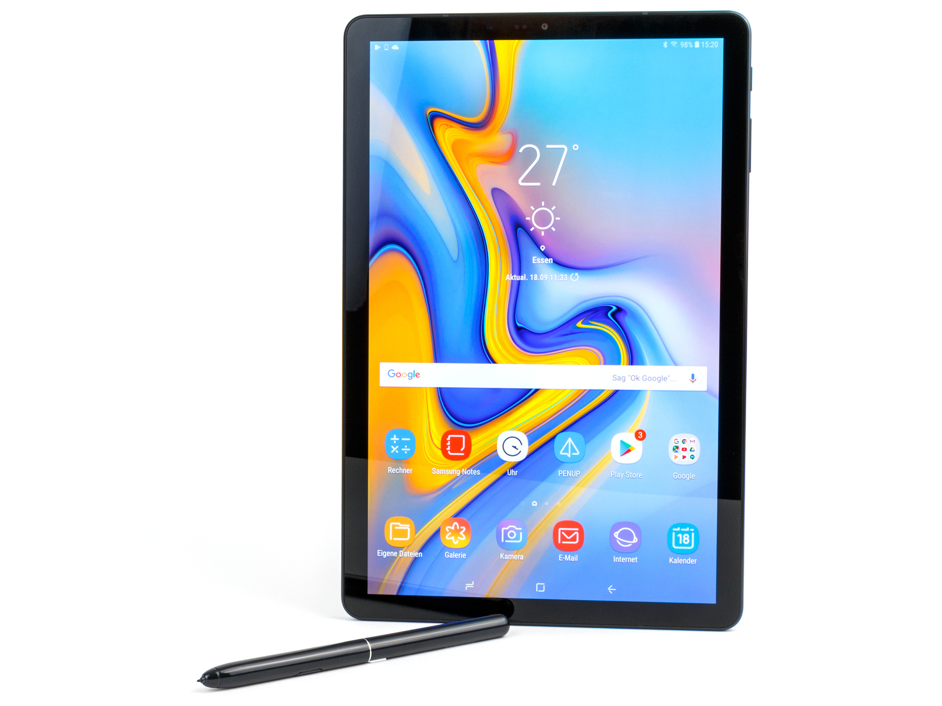 Preiswerte Tablets Test Samsung Galaxy Tab S4 Tablet Notebookcheck Tests