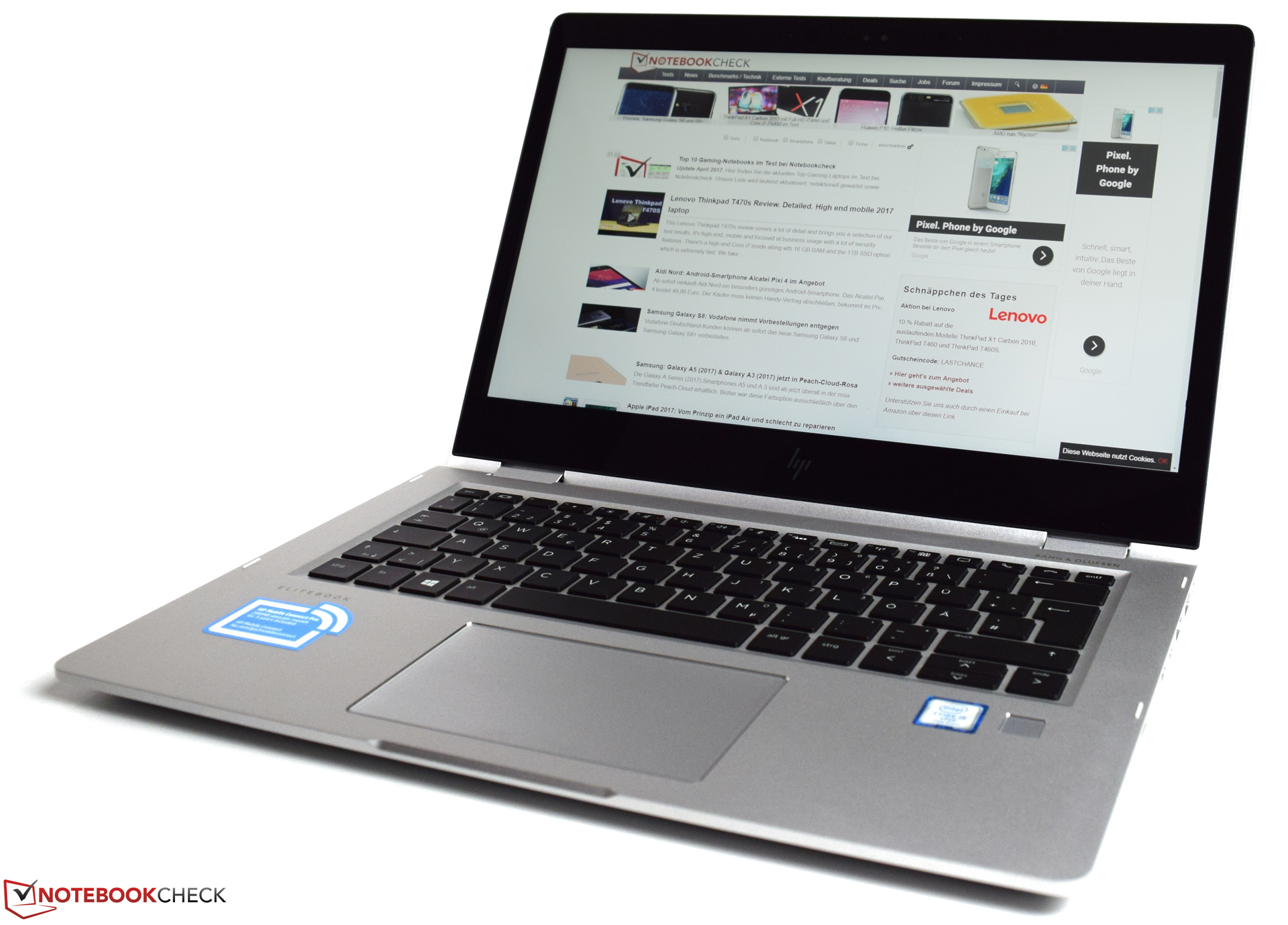 Aldi Nord Computer Hp Elitebook X360 1030 G2 Core I5 Full Hd Convertible Review