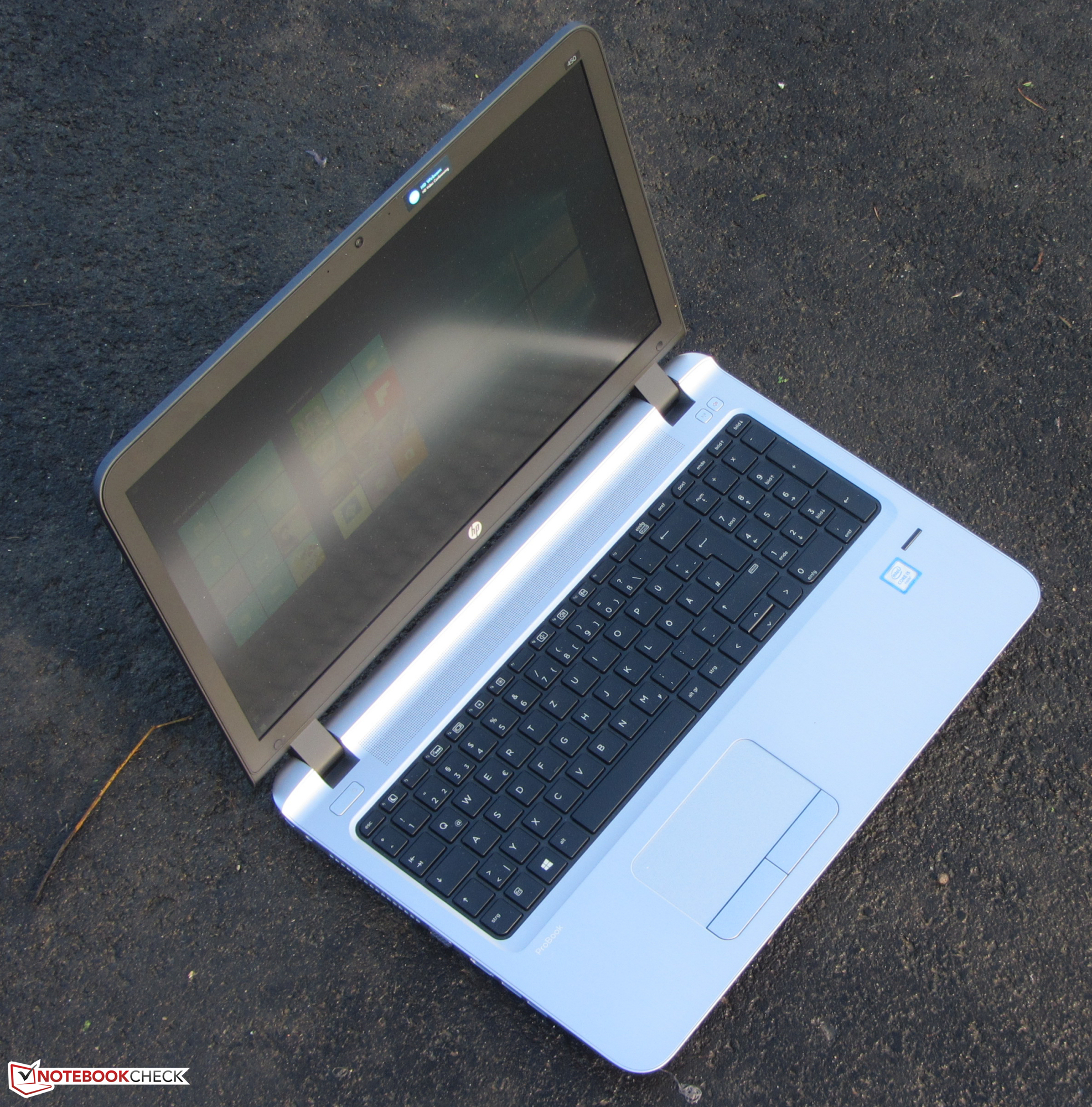 Hp Probook 450 G4 Hp Probook 450 G3 Notebook Review Notebookcheck Reviews