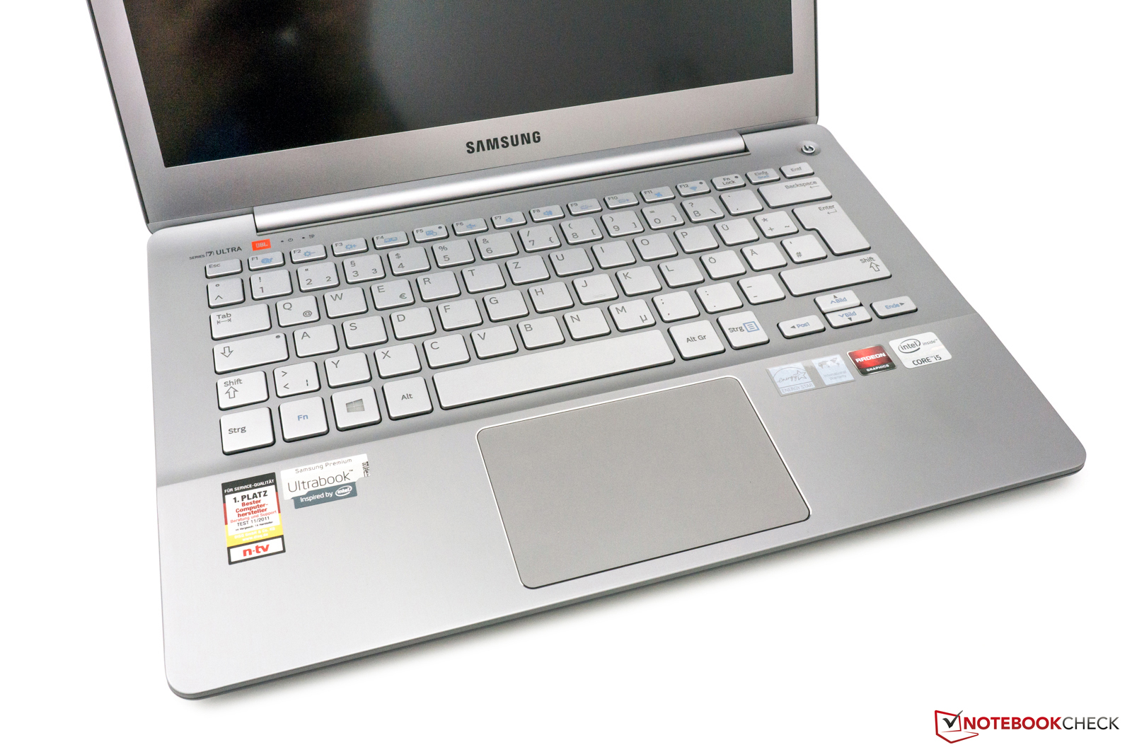 Touch Key Beleuchtung Review Samsung Series 7 Ultra 730u3e S04de Ultrabook