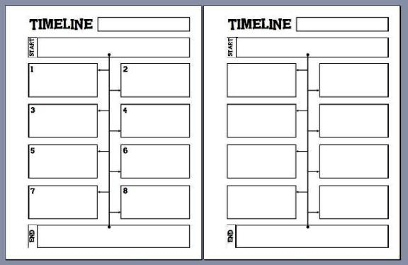 Timeline Notebooking Pages \u2013 Notebooking Fairy