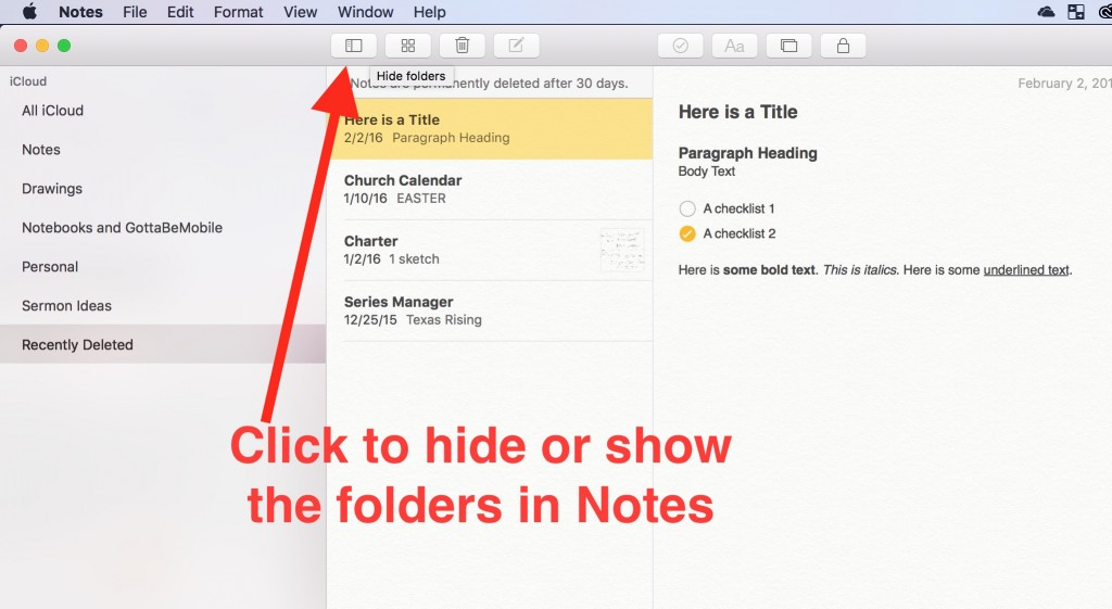 20 OS X Notes Tips and Tricks