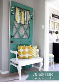 Old Door Repurposed Ideas - Noted List