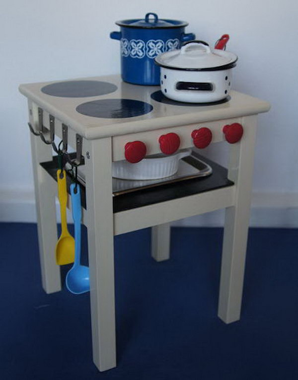 Microwave Stand Ikea 25 Diy Play Kitchen Ideas & Tutorials - Cool Gifts For