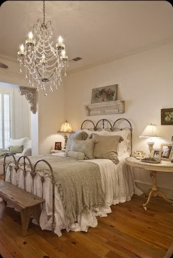 Shabby Chic Schlafzimmer 30 Shabby Chic Bedroom Ideas - Decor And Furniture For