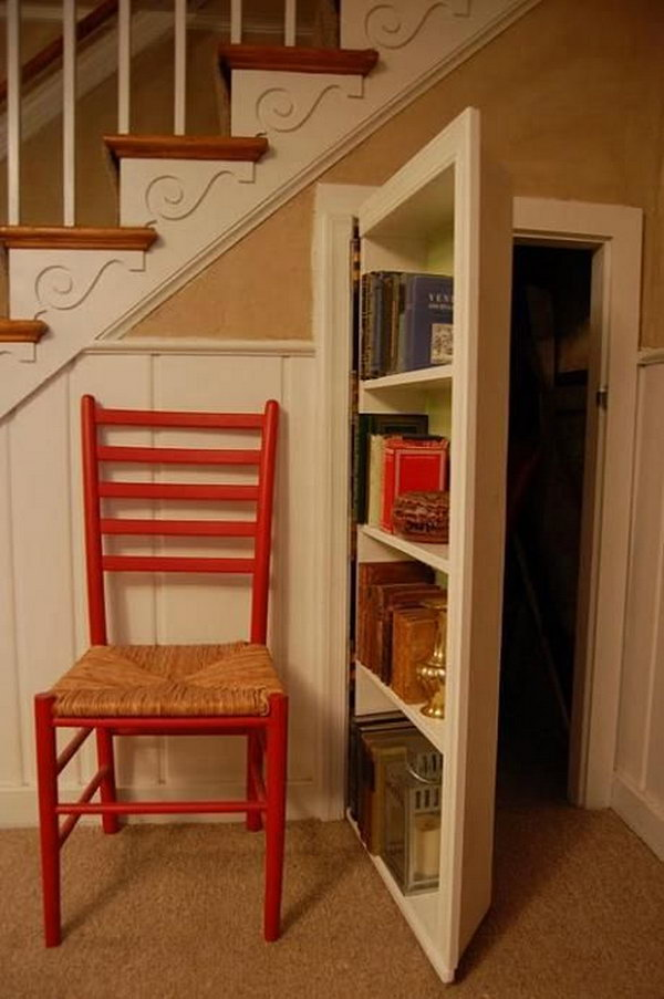 Pull Out Shelves Ikea Creative Under The Stair Storage Ideas - Noted List