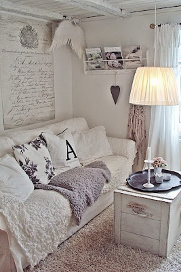 Romantic Shabby Chic Living Room Ideas Noted List - Shabby Schlafzimmer