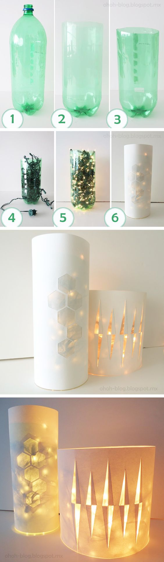 Recycled Plastic Bottle Lamp Creative Ways To Recycle Plastic Bottles Into Useful Things