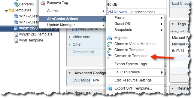 How to build a Windows 2012 R2 VMware Template \u2013 Notes from MWhite - how to template