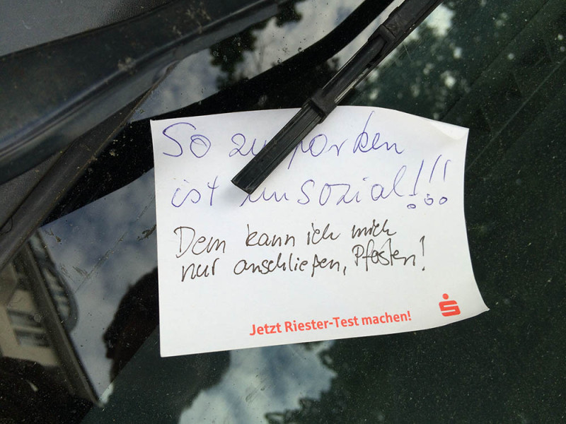 Beste Wohnungssuche Parkpfosten - Notes Of Berlin