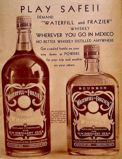 Whiskey de Kentucky destilado y embotellado en México