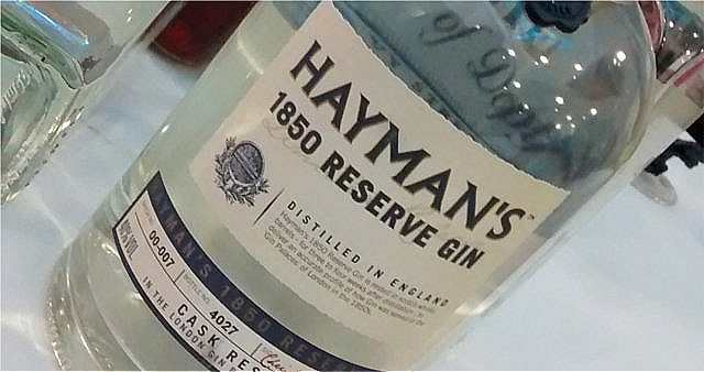Haymans reserve gin
