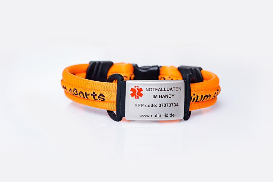 Medical Id Bracelet Emergency Wristlet For Adults
