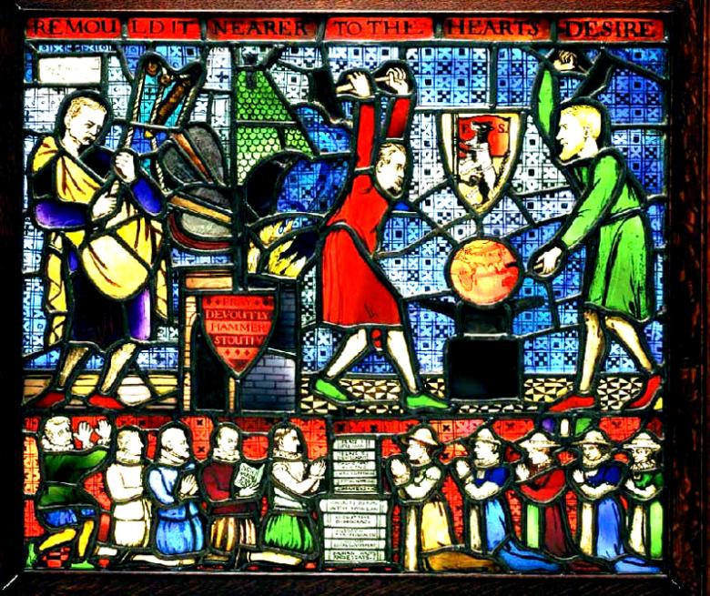 Fabian Society Stained Glass Window