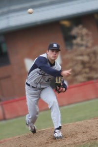 Cooper Byrne '15 tossed his second consecutive complete game on Saturday.