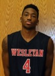 BJ Davis (Courtesy of Wesleyan Athletics)