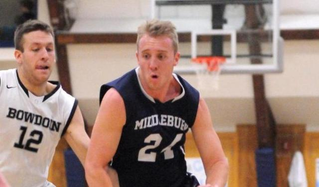 Hunter Merryman '15 and Middlebury are the cream of the crop, for now. (Courtesy of Middlebury Athletics)