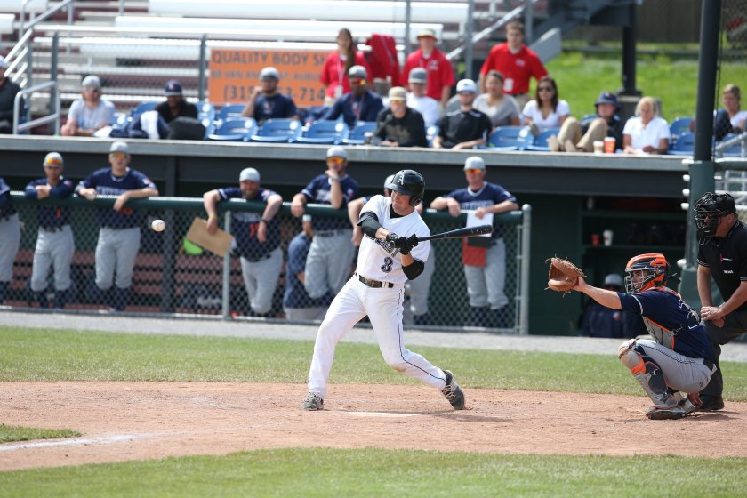 Andrew Vandini '16 has helped Amherst get off to a fast start.