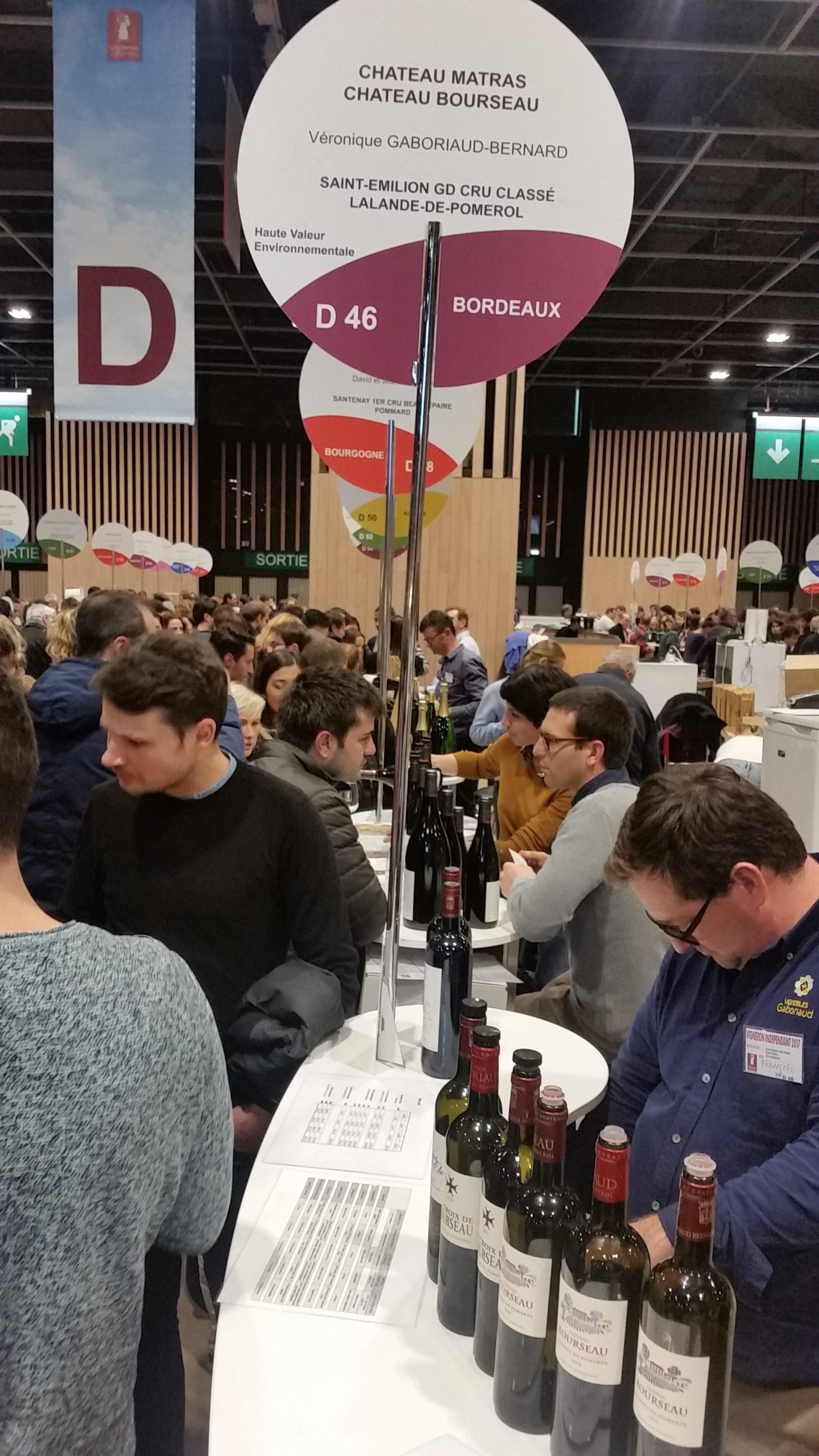 Salon Vin Bordeaux French Wine Fair Paris S Biggest Annual Wine Fair December S