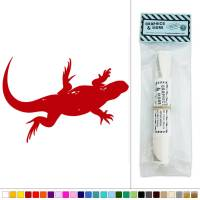 Lizard Reptile Hanging Around Vinyl Sticker Decal Wall Art ...