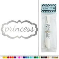 Princess Frame Girl Vinyl Sticker Decal Wall Art Dcor | eBay