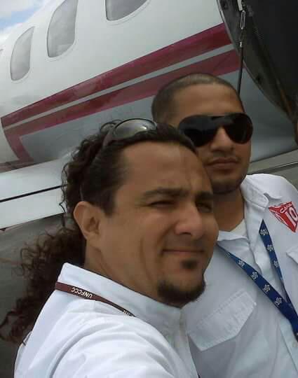 Miguel Angel Torres Leal, camarógrafo del Canal 10, falleció en el trágico accidente. Su compañero, Marcelino Cacique, grave.