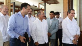 Presidente visita hoteles costa norte
