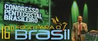Silas Malafaia realizará 16° Congresso Pentecostal Brasileiro Fogo para o Brasil