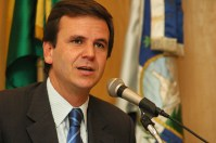 Pastor Silas Malafaia gravará programa eleitoral e aparecerá no material de campanha de Eduardo Paes, afirma jornalista