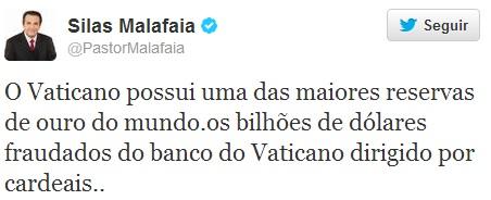 twitter pastor silas malafaia