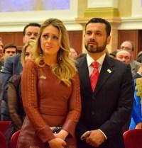 """Filha do bispo Edir Macedo afirma que falta de luz na inauguração do Templo de Salomão foi """"sabotagem"""""""
