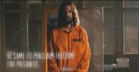 """Campanha de evangelismo mostra Jesus no corredor da morte: """"Essa foi a experiência que Ele teve"""", diz idealizador; Assista"""