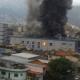 Incêndio de grandes proporções destrói parte de templo de igreja evangélica no Rio