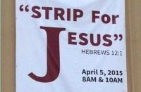 """Igreja arrisca na estratégia de evangelismo e convida vizinhos para participarem de """"strip-tease para Jesus"""""""