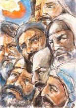 """""""Arte e fé"""": artista italiano ilustra Bíblia Sagrada à mão ao longo de uma década; Veja imagens"""