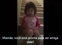 A importância da família: menina tenta reconciliar os pais e vídeo se torna viral; Assista