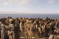 Os Dez Mandamentos mostrará hoje a travessia dos hebreus a pés enxutos no Mar Vermelho