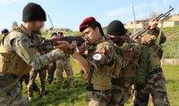 Cristãos recebem treinamento militar para expulsar o Estado Islâmico do norte do Iraque