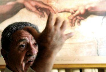 """Creación. Apoyó a Kirchner en el 2003, pero luego se enemistaron cuando """"Chiche"""" le peleó la senaduría a CFK."""