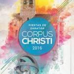 Programa Fiestas Corpus Zaratán 2016